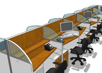 Render estaciones modulares
